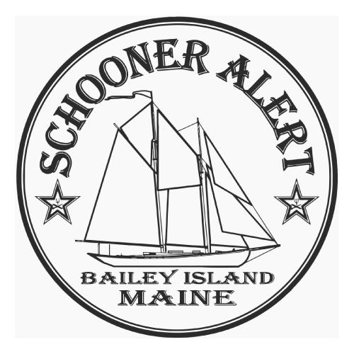 Schooner Alert Bailey Island Maine